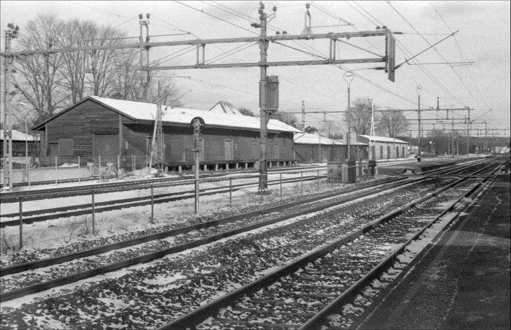 Vy från stationssidan